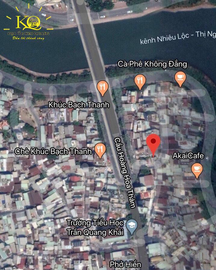 Vị trí bản đồ tòa nhà căn hộ dịch vụ cho thuê đường Trần Quang Khải quận 1