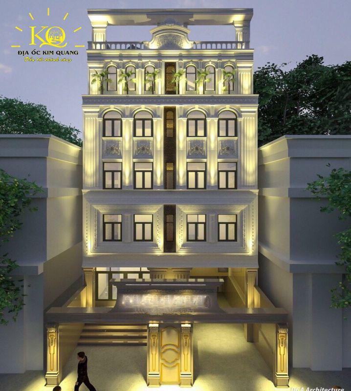Phối cảnh tổng thể tòa nhà căn hộ dịch vụ cho thuê đường Trần Quang Khải